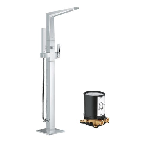 Grohe Allure Brilliant Tub Filler Faucet Kit with Rough-in