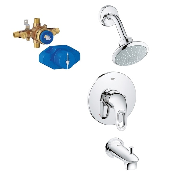 Grohe Eurostyle Shower/Tub Faucet Kit with Rough-in. Opens flyout.