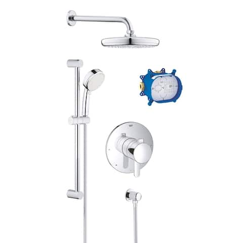 Grohe GrohFlex Shower Faucet Set Kit with Rough-in