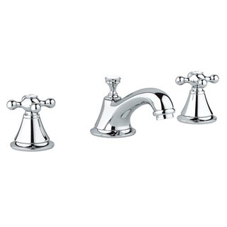 Link to Grohe Seabury Widespread Bathroom Sink Faucet Kit with Cross Handles Similar Items in Faucets