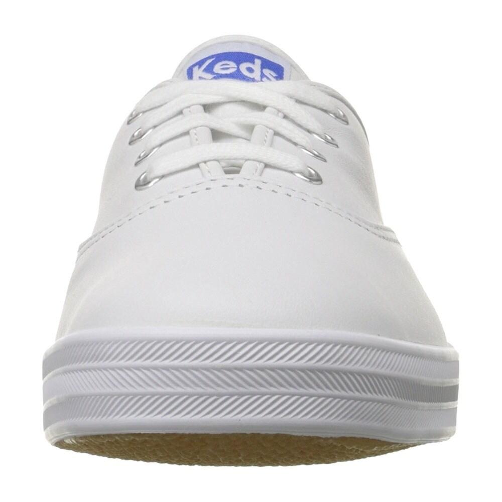 keds women's champion original leather sneaker
