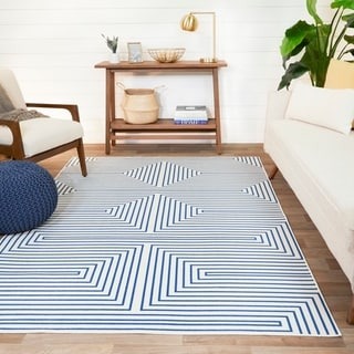 Link to Paskal Geometric Striped Area Rug Similar Items in Dining Room & Bar Furniture