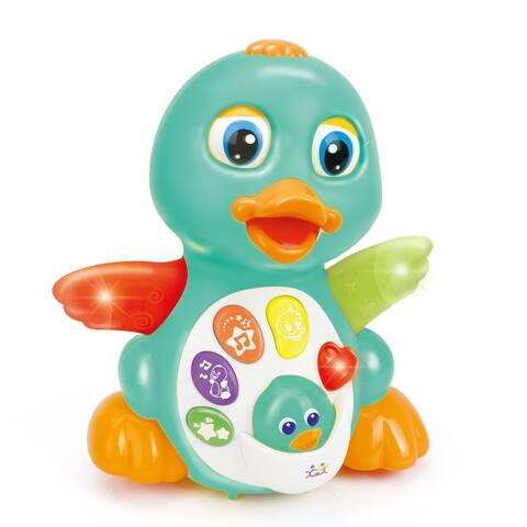 Hola Light Up Dancing and Singing Duck Toy