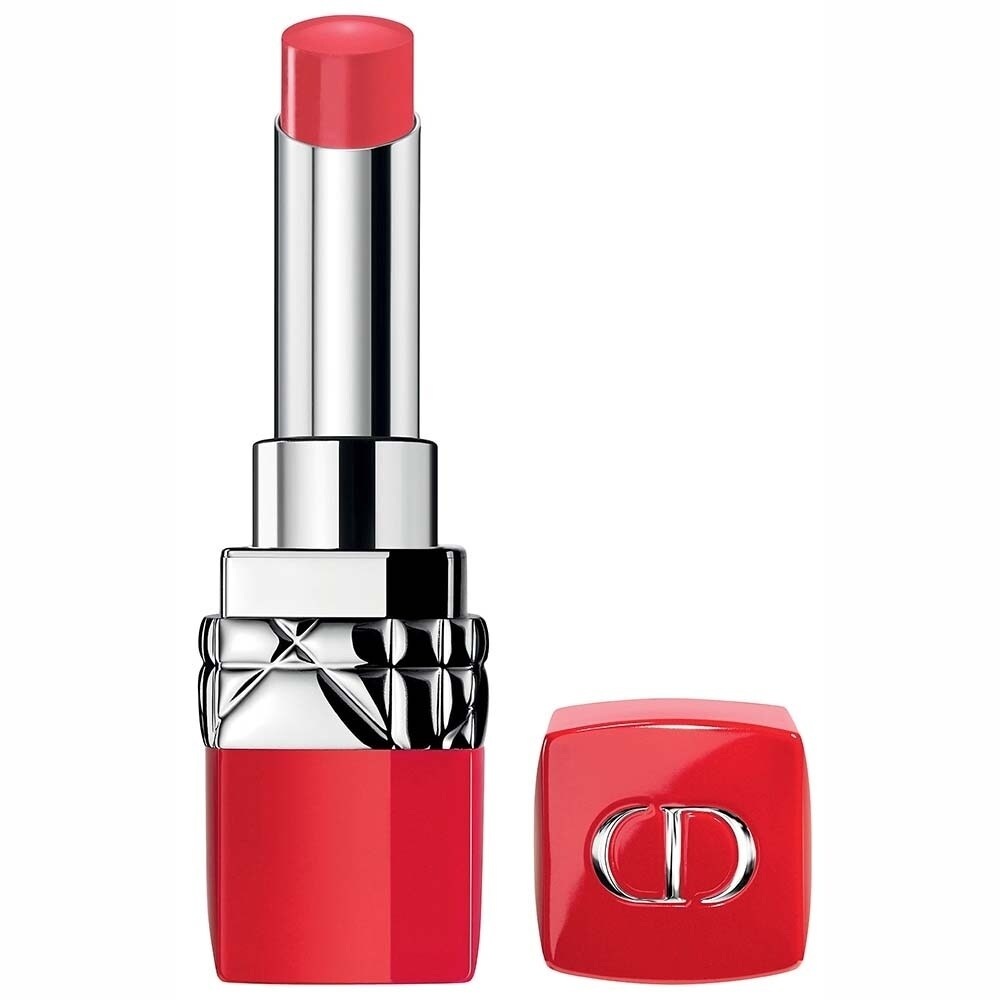 Dior Ultra Rouge Lipstick 555 Ultra Kiss 0.11 OZ (Red - Lipstick)