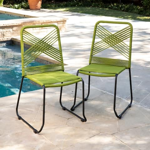 Holly & Martin Padko Outdoor Rope Chairs (Set of 2)