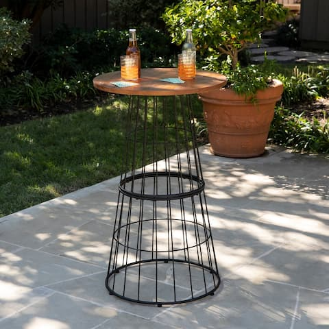 Holly & Martin Crolden Round Outdoor Accent Table
