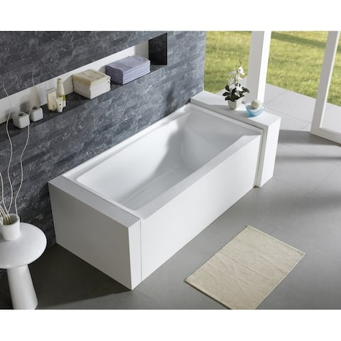 Alma Sotria 60 by 32 inch Acove Build- in Soaking Tub