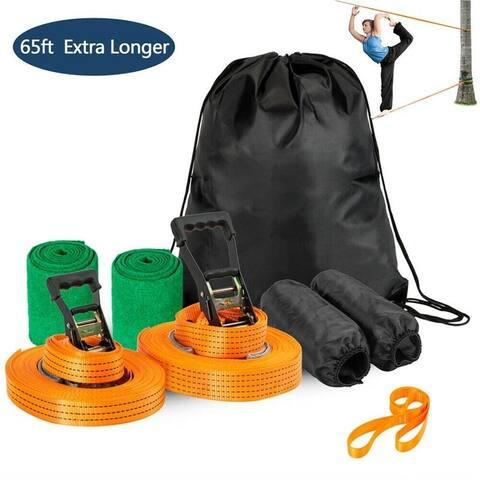 Arm Trainer Line Warrior Training Equipment Slackline Kit for Kids