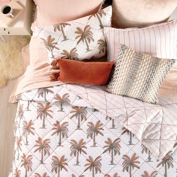 Porch & Den Saint John Tropical Palm Cotton Quilt. Opens flyout.
