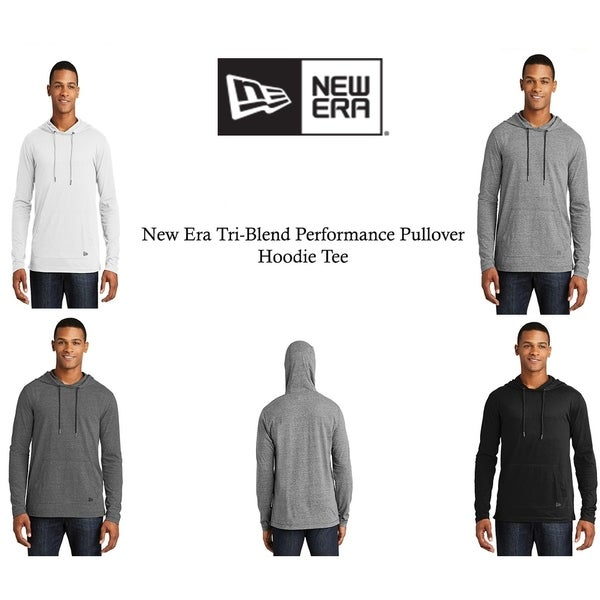 New Era Tri Men's Blend Performance Pullover Hoodie. Opens flyout.