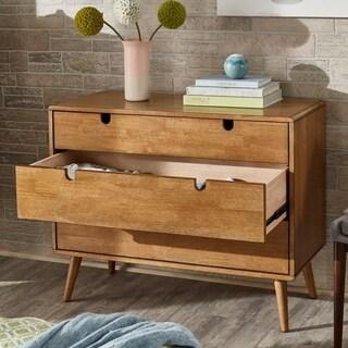 Clark Oak Finish 3-drawer Dresser by iNSPIRE Q Modern