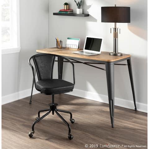 Oregon Industrial Upholstered Task Chair