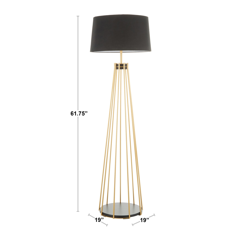 Canary Contemporary Floor Lamp