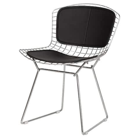 Strick & Bolton Campsie Contemporary Steel Chair