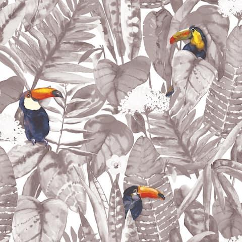 Toucan Peel and Stick Wallpaper