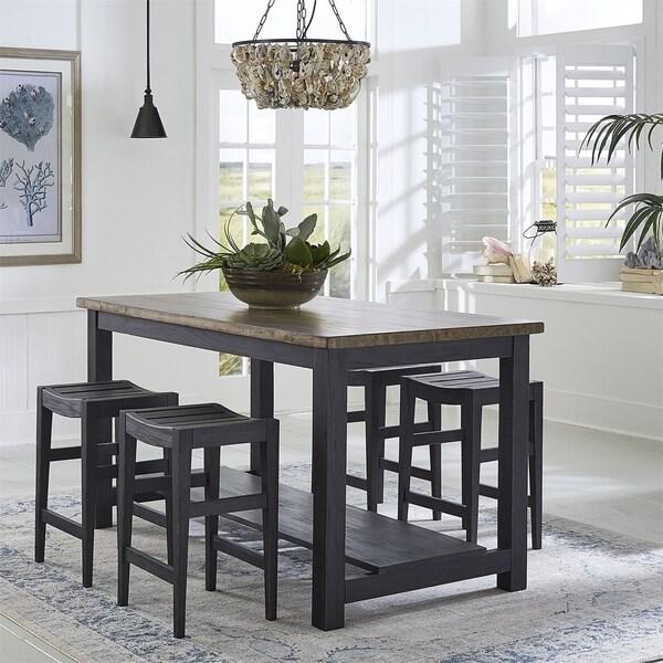 Color Nook Blackstone 5-piece Gathering Table Set