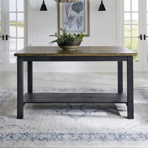 Liberty Color Nook Blackstone Rectangular Gathering Table