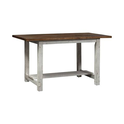 Color Nook Whitestone Rectangular Gathering Table