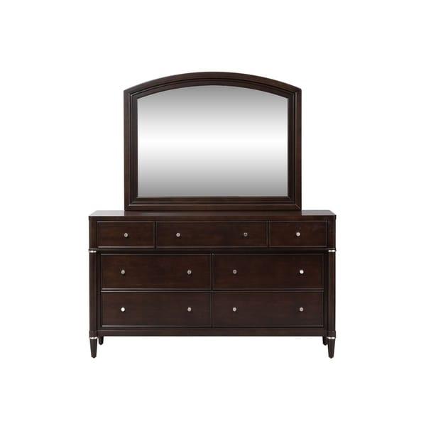 Essex Dark Truffle 7-drawer Dresser and Mirror