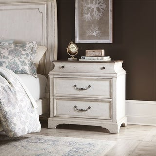 Abbey Road Porcelain White Accent Chest