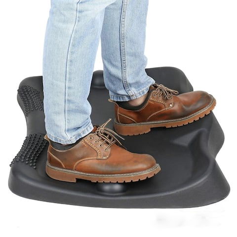 Not-Flat Standing Desk Anti-Fatigue Mat with Foot Massage