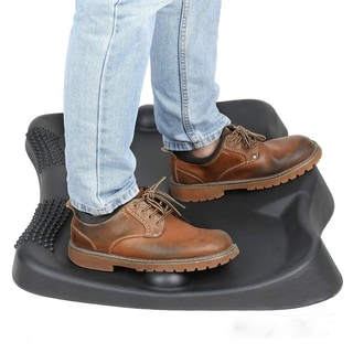 Not-Flat Standing Desk Anti-Fatigue Mat with Foot Massage