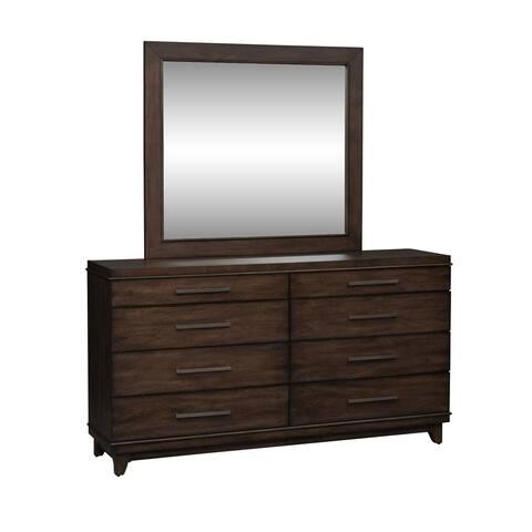 Ventura Boulevards Bronze Spice Dresser and Mirror