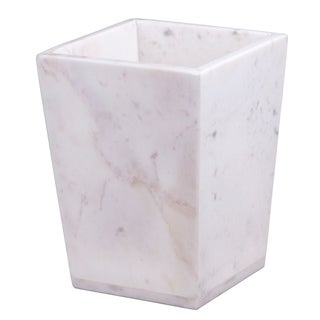 Link to Creative Home White Marble Trash Bin Similar Items in Toothbrush Holders