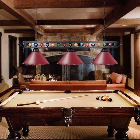 Pool Table Light for 7ft, 8ft Billiard Table