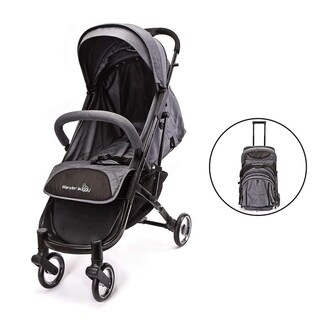 Link to WonderBuggy Baby Stroller Portable One Hand Folding Compact Travel Stroller Grey Similar Items in Strollers