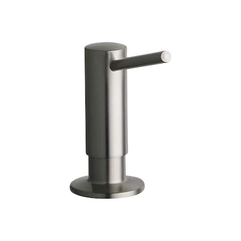 "Elkay 2"" x 4-5/8"" x 3-5/8"" Soap / Lotion Dispenser, Brushed Nickel (NK)"