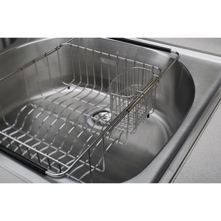 "Elkay Stainless Steel 3-1/2"" x 5-1/8"" x 4-3/8"" Utensil Caddy"