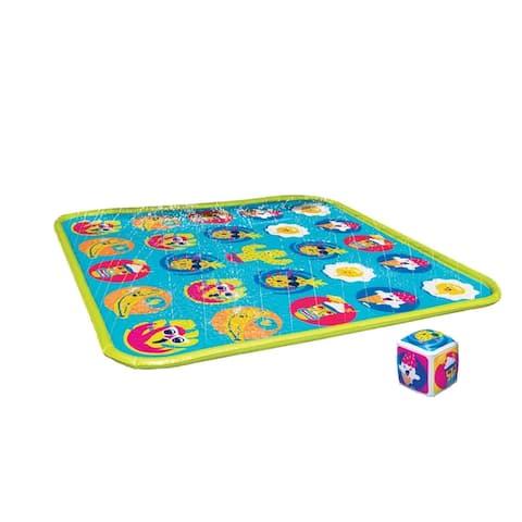 Banzai Twist 'N Turn Challenge Sprinkler Game - Outdoor Toy