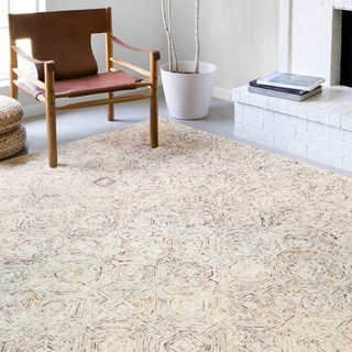 Alexander Home Aspen Rugged Hand-Tufted Contemporary Wool Rug