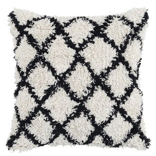Lyla 100% Cotton 22-inch Throw Pillow