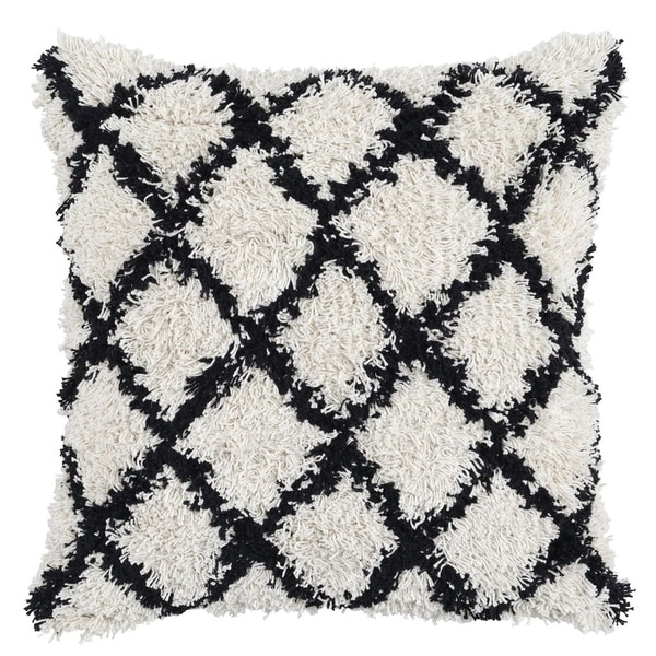 Lyla 100% Cotton 22-inch Throw Pillow