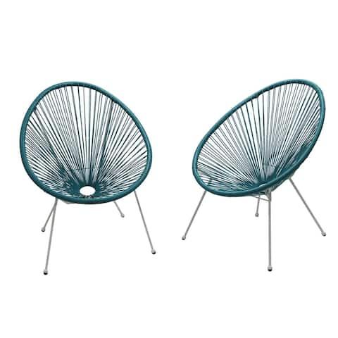 Acapulco Light Blue Resort grade Chairs Set of 2