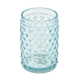 Link to Creative Home Embossed Dot light blue Glass Tumbler Similar Items in Toothbrush Holders