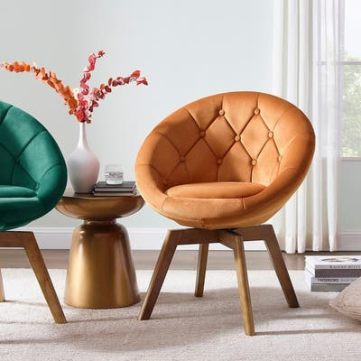 Orange Living Room Chairs Online At