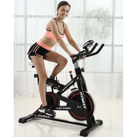 Ainfox Stationary Flywheel Exercise Cycling Bicycle Trainer Bike