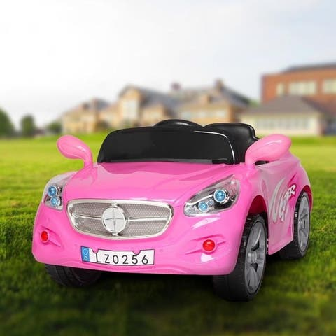 LEADZM Electric Ride on Kids Fashion Car Battery Powered Vehicle with Remote Control