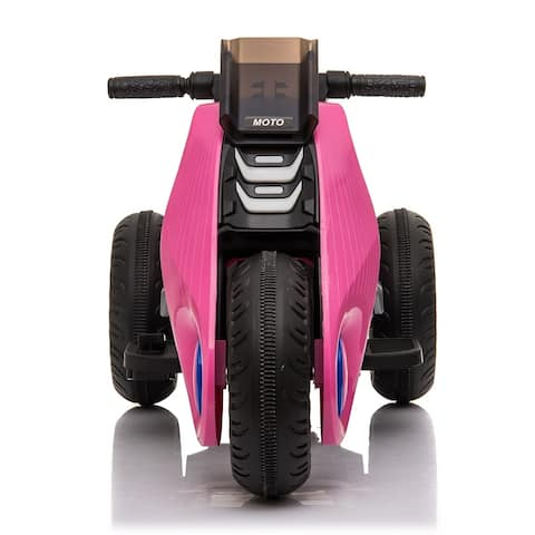 Children's Electric Motorcycle 3 Wheels Double Drive