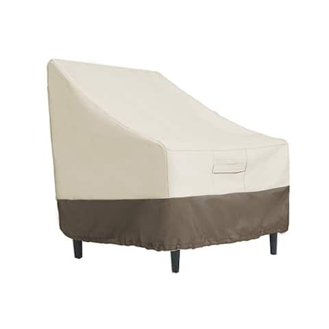 Waterproof Patio Lounge Chair/Club Chair Cover, Medium, L31 x D38 x H31