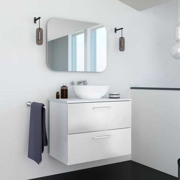 Shop 32 inch Happy Modern Bathroom Bowl Vessel Sink Vanity ...