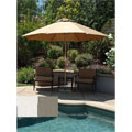 Lauren & Company Premium 9-foot Round Patio Umbrella with Stand