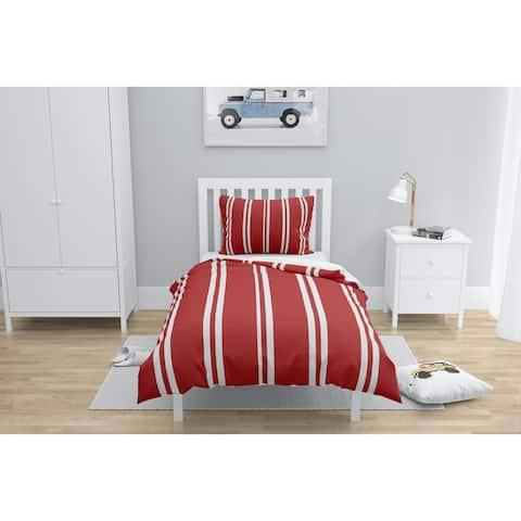 RYAN STRIPES RED Comforter by Kavka Designs