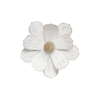 Foreside Home and Garden Stacy Wall Flower Small