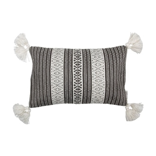 Foreside Home and Garden 14X22 Hand Woven Darcey Pillow