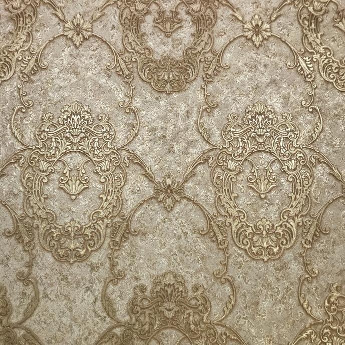 Shop Wallpaper Vinyl Embossed Textured Victorian Oval Vintage