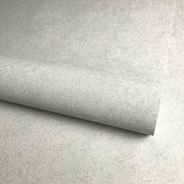 Shop Modern Wallpaper Roll Wall Coverings Gray Silver Metallic